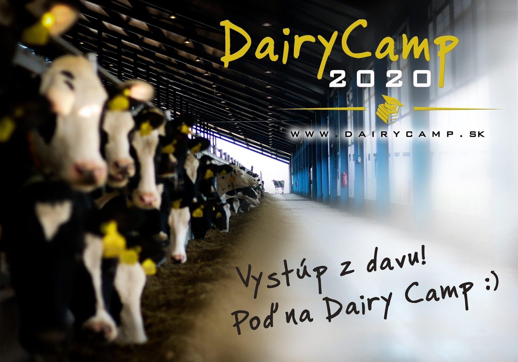 Vystúp z davu! Poď na Dairy Camp