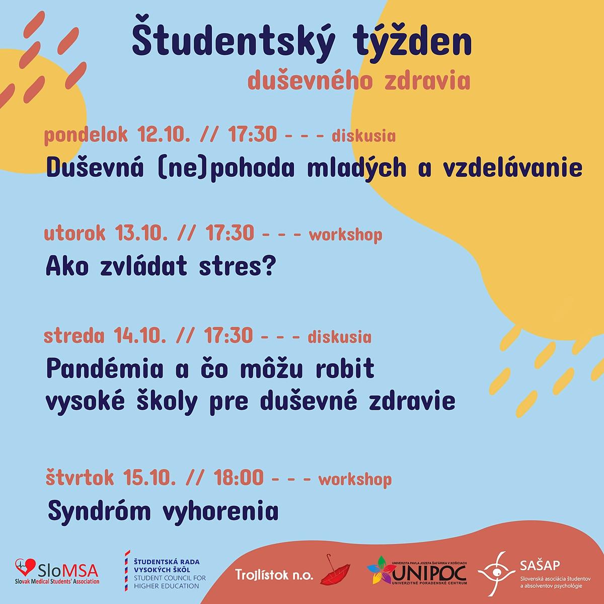 Študentský týždeň duševného zdravia