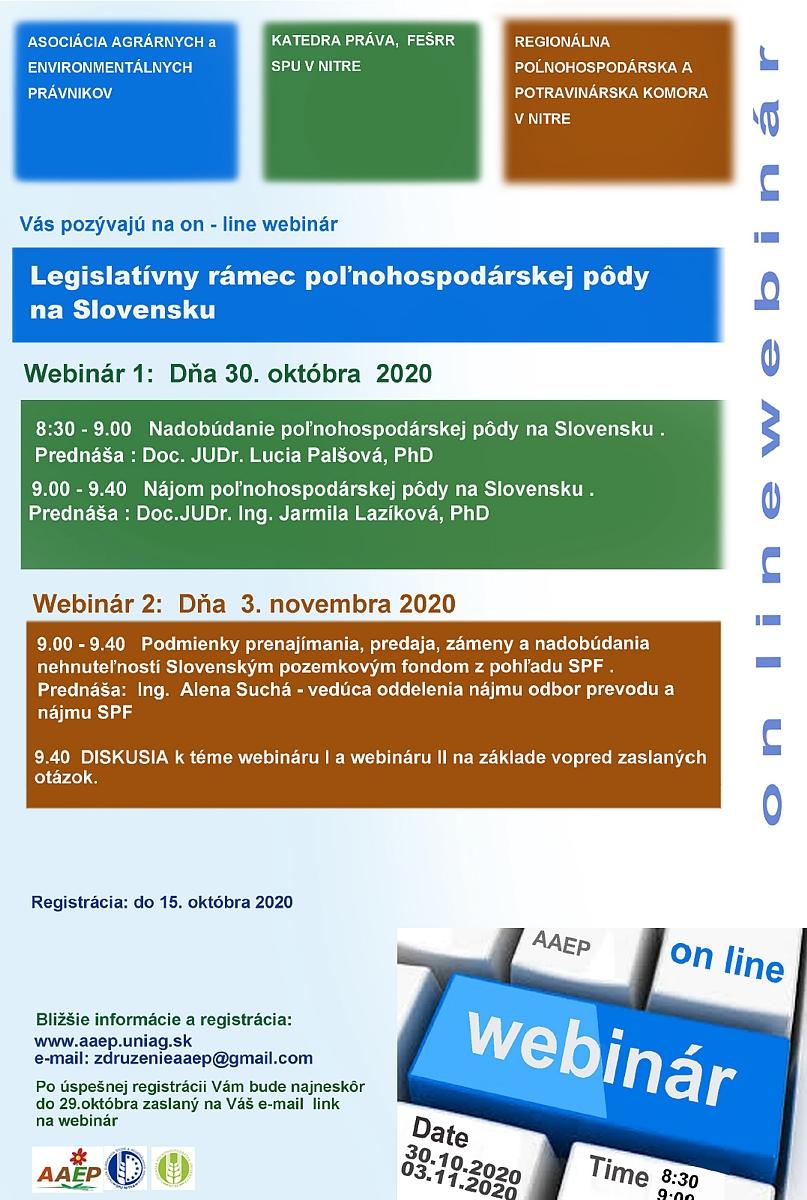 Legislatívny rámec poľnohospodárskej pôdy na Slovensku