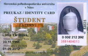 Preukaz externého študenta